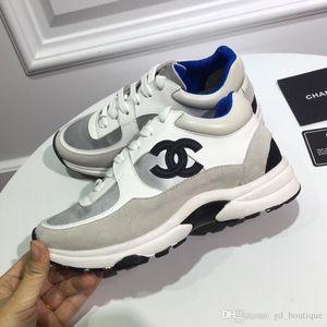 chanel 2019 Nouveau Mode Hommes Chaussures Femme lacets Haut Bas légère Zapatos hombre Drop Ship Chaussures confortables 35-45