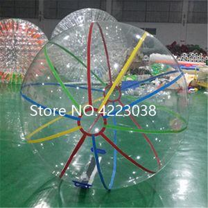 شحن مجاني 2.0 متر ضياء نفخ المياه المشي الكرة الكرة الهامستر الإنسان العملاق نفخ المياه zorb الكرة