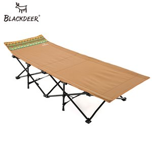 BLACKDEER 2018 New Camping Mat resistente confortável Tent Folding portátil berço cama dormir Oxford Outdoor Camping Bed