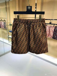 2020ss Mens Designer Pantalon d'été Shorts Mode 4 couleurs Lettre Imprimé Shorts 2019 Relaxed Drawstring Homme Luxe Sweatpants M-3XL