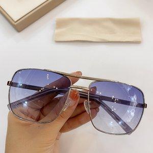 Новый Z0259u Звезда градиентно-фиолетовый металл квадратные солнцезащитные очки для мужчин UV400 69-16-140 металл эластичный храм полный комплект упаковочная коробка бесплатная доставка