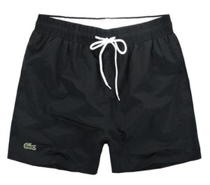 Pantaloncini estivi da uomo casual Pantaloncini sportivi casual estivi Asciugatura rapida da uomo Pantaloni da spiaggia Bianco e nero Asiatico Taglia M-2XL