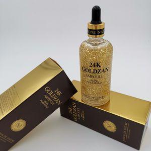 100ml Facial Serum Skin Care Skinature 24k Goldzan Ampoule Gold Day Creams & Moisturizers Gold Essence Serum Makeup