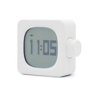 Date Time Date Small Clock Creative Square Clark Clock Bedroom Digital