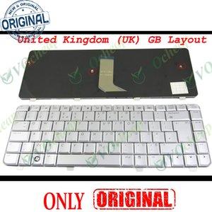 New Notebook Laptop keyboard for HP Pavilion dv4 dv4-1000 -1500 -1600 DV4-1413TX DV4t dv4-2000 Silver UK GB Version - NSK-H570U
