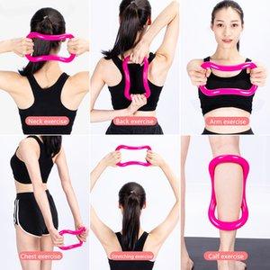 2020 Gym Yoga Cercle Multifonctions Yoga Pilates Workout Anneau Fitness Circle Training Bodybuilding exercices d'étirement