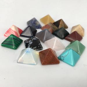 7шт натуральный пирамидальный камень кристаллы исцеление чакра или изготовление ювелирных изделий