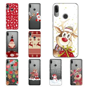 Merry Christmas Santa Claus Deer new year Cover phone Case for Motorola Moto G8 P40 Power E6 Plus,Factory direct sales