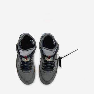 NikeAJ Hocoal 2020 Les nouveaux hommes de basket-ball Xshfbcl 5S chaussures sport 5 haut blanc baskets formateurs designer Xshfbcl