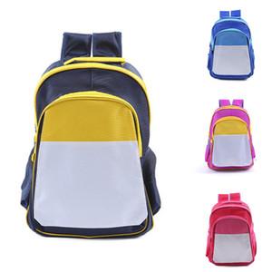 MDF sublimação em branco DIY infantis saco de transferência de calor mochila fotos impressas consumíveis em branco 4 cores schoolbag