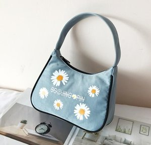 2020 designer luxury handbags purses women axillary bag mini summer shoulder bag little Daisy Beach bags Candy color