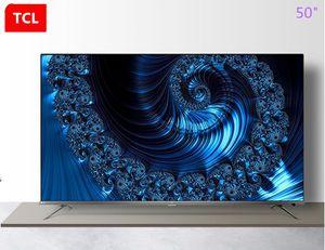 TCL da 50 pollici ultra sottile 4K Ultra HD 37-core AI schermo intero voce su rete HDR TV LED caldo di nuovi prodotti di trasporto libero!