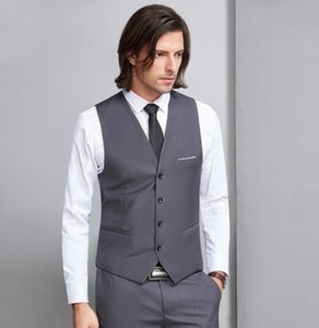 Custom Made Fine Cool Single Breasted Vests British Style For Men Suitable For Men's Wedding   Dance   Dinner Best Men's Vest