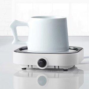 난방 우유 차 물 컵 히터를 충전 난방 코스터 온수기 55 학위 온도 조절기 오피스 USB