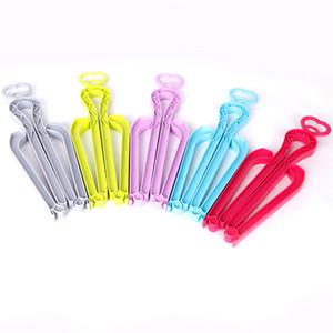 5 Pcs Plastics Knee High Organizer Storage Stretcher Hanger Boot Support Rack Holder Heart Stand Women Shoes Clip Folding