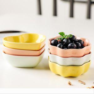 Creative Seasoning Dish Ceramic Wave Heart Shape Sauce Saucer Dinnerable Tray For Home Kitchen Flatware 1 4fx E19