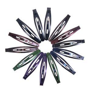11 / 12pcs / pack Nuovi semplici clip di capelli nero ragazze forcelle delle clip di BB Barrettes fasce per le donne Hairgrips Accessori per capelli