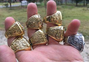 7PCS 1977 1978 1996 1998 1999 2000 2009 Baseball World Series Championship Ring Set Сувенирных Мужчины вентилятор Подарочных Drop Доставка