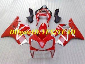 Инъекции плесень обтекатель комплект для Honda CBR600F4I 01 02 03 CBR600 F4I 2001 2002 2003 ABS горячий красный обтекатели набор + подарки HY63