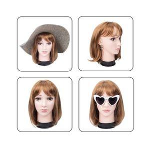 Jefes 1PC Pro Training Maniquí plana de ojos del maquillaje facial pestaña de la pestaña práctica cosmética modelo de formación profesional de herramientas
