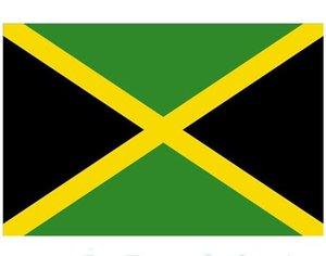 3x5 Bandeira Jamaica 90x150 cm baratos Flags País Nacionais de Jamaica com dois Grommets, SN3209 frete grátis