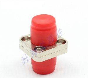 FC square two-piece fiber optic adapter single-core fiber optic coupler flange