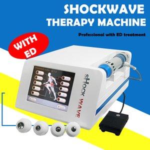 Protable Gainswave onda de choque de baja intensidad terapia de ondas de choque para la disfunción eréctil y fisicamente para el dolor de cuerpo máquina de tratamiento