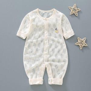Nouveaux été Bébé Filles barboteuses Designer Kids Fashion O-cou à manches courtes en coton Tenues bébé filles Romper Vêtements garçon