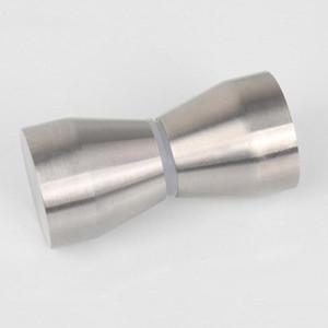 الصلبة الفولاذ المقاوم للصدأ الحمام مقبض صغير زجاج الباب ثقب واحد مقبض غرفة الاستحمام سحب الأجهزة المنزلية جزء