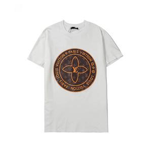 여자 남성 브랜드 문자 인쇄 패션 디자이너 맨 티 짧은 소매 캐주얼 T 셔츠 M-3XL 2020 새로운 패션 T 셔츠