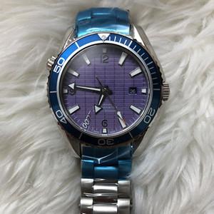 omg dial del diseñador del movimiento del reloj para hombre mecánico automático para hombre Negro de la serie Royal Oak reloj 007 Hombres de acero inoxidable Relojes de pulsera