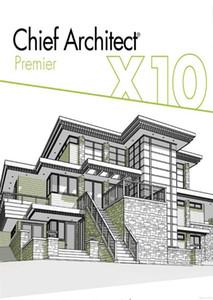 Premier architecte en chef X10 pour Win / Mac