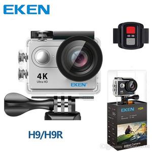 Original EKEN H9 H9R Tätigkeits-Kamera 4K Wifi Ultra HD 1080p / 60fps 720P / 120FPS Wasserdichte Sport Cam Mini-DV-Kameras mit Remore Steuer