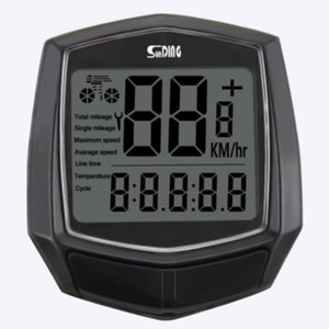Wired Sensor Bicycle Speedometer Waterproof Clock Digital Stopwatch Odometer Accessories Bicycle Accessories CyclingCycling Com