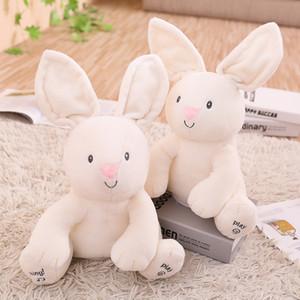 Peek A Boo Bunny, juguetes y regalos para niños, electrónicos, musicales, orejas aleteo, hablar y cantar