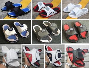 Sandales Hydro 4 Bred 5s 13s 12s Pantoufles Hommes Avec Boîte En Gros Livraison gratuite Rouge Noir Blanc