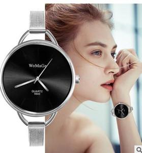 43Express esprimere desiderano stile caldo braccialetto WoMaGe signore eleganti stile femminile quarzo grande quadrante dell'orologio ragazze con il contenitore di vigilanza