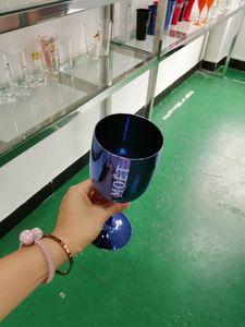 Бокалы шампанского Пластиковые гальванические белый, розовый ЗОЛОТО PS кубок Moet Cup один кусок Drinkware