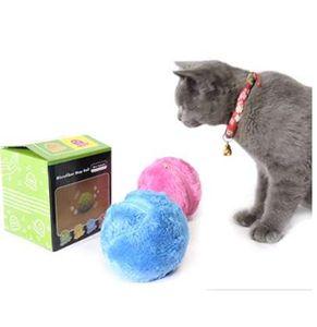 سحر الرول الكرة الحيوانات الأليفة لعبة التلقائي الرول الكرة مضغ أفخم الطابق النظيف اللعب غير سامة آمنة الكهربائية التفاعلية لعبة الكرة