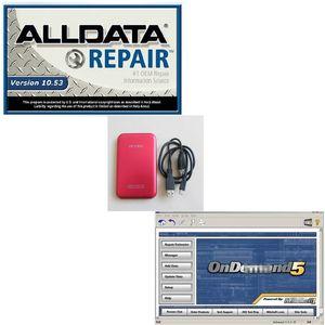 Free Shpping 750G HDD с Auto Repair Alldata V10.53 + 2014 Mit Soft-Ware Fit Win 7 XP System Ремонт Soft-изделия