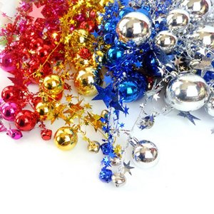 2M Christmas Tree Decor Ball Bauble Xmas Party Hanging Ball Ornament Decorations for Home Christmas Decorations Gift