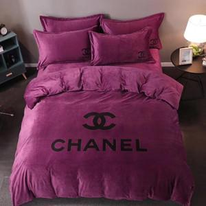 ملون 100 ٪ القطن الفراش المعزي مجموعة الملك الملكة حجم حاف الغطاء المفرش السرير في حقيبة المنزل texile أغطية ملاءات ملاءات