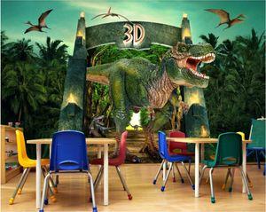 3d комната обои на заказ фотообои юрского динозавра тв фоне настенной живописи home decor wall art pictures обои для стен 3 d