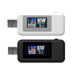 lectrical Aletleri Metre 10 1 Dijital Dispay DC USB Tester Akım Gerilim Şarj Voltmetre güç banka wattmeter tester doktor ...