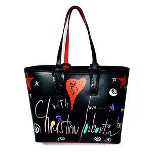 Classique dame sacs à main sac à main mode totes fond rouge à l'intérieur des sacs sac à main en cuir véritable sac à main haut composite de qualité de la main