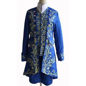 Beast prince cosplay costume Costume de scène Performance robe de vacances costume vêtements prince COS, jeu costume cosplay anime;