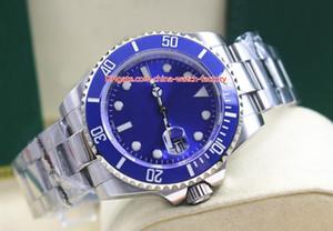 Venda quente de alta qualidade homens 40mm 116619 116619lb calendário azul cerâmico bezel 316 aço Ásia 2813 movimento automático mens relógio relógios relógios
