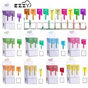 Ezzy OVAL Одноразовые устройства 280mAh Vape Pen 1,3 мл Под Слейте несколько цветы Одноразового Испаритель Puff Pen E Cigarette