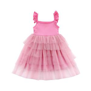 Emmababy HOT прелестная принцесса лето Пром рождения кружевное платье Туту платья для девочки подарок