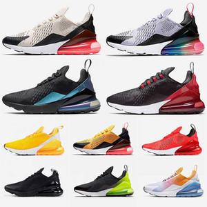 2020 Nike Air Max 270 React airmax Eğitmenler Regency Mor Liquid Metal Siyah Kadın Ayakkabı SE Kaplan Sıcak Punch Çekirdek Beyaz Mesh Orta Zeytin Bayan Spor Ayakkabı Koşu Bred